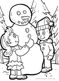 Kleurplaat Sneeuwman Gratis Kleurpaginas Om Te Downloaden