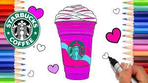 How To Draw A Starbucks Unicorn Frappuccino Free Printable