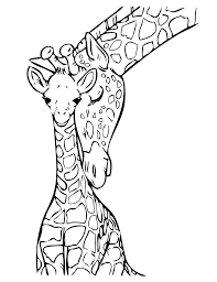 Baby Giraffe Coloring Page Free Printable Coloring Pages