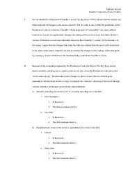 minister or police offic sample comparative essay outline