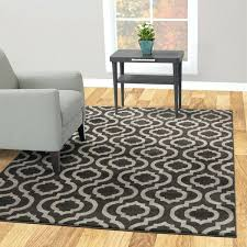 collection trellis charcoal gray area rug shuff mustard yellow