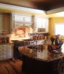 Kitchen Mural Wine And Roses Tile Mural Kitchen Backsplash Custom Tile Art