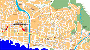 pedregalejo malaga tourist map  el palo spain • mappery