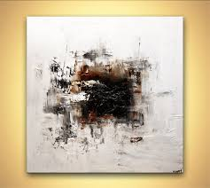 white abstract art modern abstract painting home decor nonye s