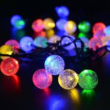 diy multi color led outdoor christmas lights amazon ledertek solar outdoor string lights 19