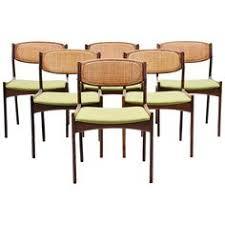 ib kofod ln chairs by linneberg denmark 1960