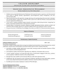Project Administrator Resume Example Best Of Samples Of Administrative Resumes New Business Administration Resume