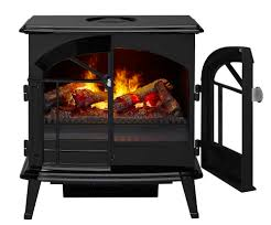 dimplex stockbridge electric fireplace that looks like a woodstove