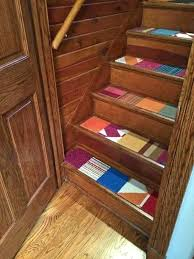 carpet strips for stairs braided rug stair treads incredible carpet pads for stairs throughout stair treads