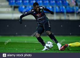 Cercle's Ike Ugbo scoring the 0-2 goal during a soccer match between  Waasland-Beveren and Cercle Brugge, Saturday 21 November 2020 in Beveren,  on day Stock Photo - Alamy