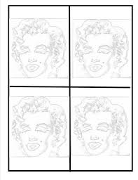 Small Picture Andy Warhol Coloring Pages Jacky Kennedy Onasis By Pagejpg