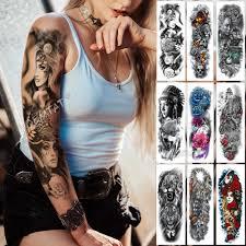 большие татуировки на руку полуночный леопард красота девушка