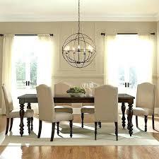 dining room light height chandelier hanging