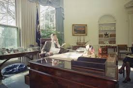 bush oval office. President George H. W. Bush Speaks By Telephone From The Oval Office Of White House E