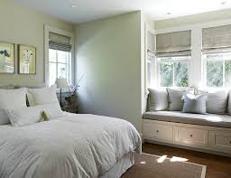 View in gallery Chic bedroom window seat