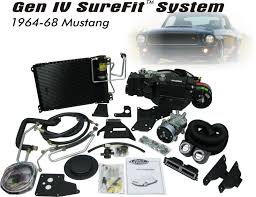 vintage air inventors of performance air conditioning 1964 68 mustang gen iv surefit system