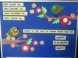 teacher s day bulletin board