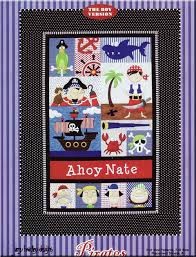 Pirates for Boys and Girls quilt sewing pattern by Amy Bradley Designs