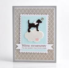 sympathy card pet dog sympathy card pet sympathy card loss of pet card by cameron