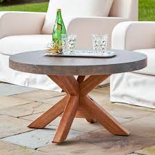 outdoor coffee tables insteading stone