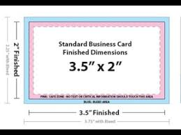 Business Card Size In Adobe Photoshop Youtube