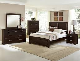 Vaughan-Bassett Transitions Panel Bedroom Set in Merlot