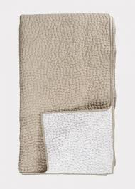 Quilt Bedspread – Beige | Bedspreads | Essentials | Linum & Bedspread in beige. Adamdwight.com