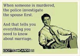 Funny Ecards – Investigate the spouse | Funny Memes | We Heart It ... via Relatably.com