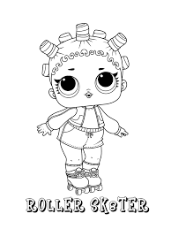 Sis swing lol surprise doll coloring page #16552155. Unicorn Lol Doll Coloring Page Free Printable Coloring Pages For Kids