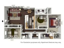 for the f plan 3 bed 2 bath floor plan