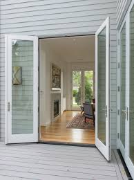 French Exterior Doors Open Out