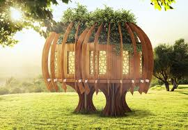 Quiet Gardens Landscape And Design Quiet Mark Treehouse Finds A New Home At Kew Gardens Blue