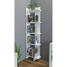 corner shelves furniture. Brilliant Shelves Decorotika Alice 67 In Corner Shelves Furniture Overstockcom