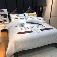 2019 green red stripe bedding sets new style luxurious design print bed sheet suit white letter cotton home textiles comforter bedding bedding set