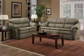 Sage Sofa Sage Microfiber Modern Casual Sofa & Loveseat Set Wwooden Legs 8059 by guidejewelry.us