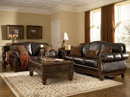 Leather Living Room Furniture Ashley Leather Living Room
