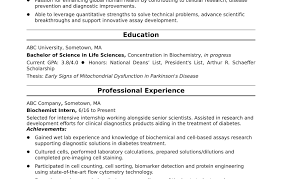 Example Of Resume For Internship Best Of Unbelievableample Resume Internship Entry For Hongwei Qin Template