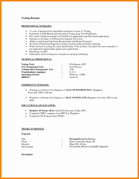 Qa Tester Resume Sample Testing Resume Format Qa Tester Resume Sample One yralaska 22