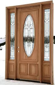 Exterior Solid Wood Doors With Fiberglass Insert Narrow Side Solid Wood Exterior Doors Home Depot