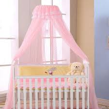 pop baby crib mosquito net summer breathable netting infants nursery bed canopy