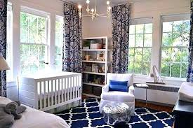baby nursery area rugs blue rug navy and white for floor round ar