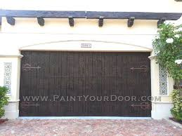 dark brown garage doorsthe Door Diva Wood Grained DoorsWood Grain Faux Painted Garage Doors