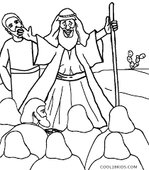 Moses Coloring Pages Free Printable