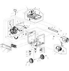 generac generator parts model gp sears partsdirect frame assy