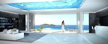 infinity pool beach house. Infinity Pool House View In Gallery Home Glass Bottomed Rendered Beach