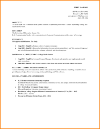 Sample Resume Job Resume Examples For College Students Cometmerchcom