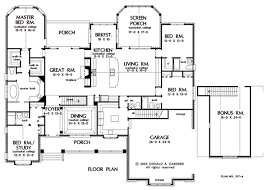 Small Picture Basement Floor Plan of The Clarkson House Plan Number 1117