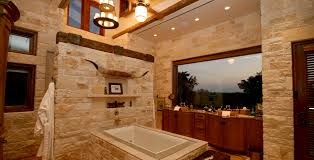 Rustic Stone Bathroom Designs 34 Design O For Impressive Ideas
