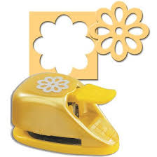 Flower Shaped Paper Punches Ek Success Paper Shapers Double Punch Double Sunflower