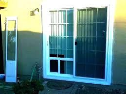 pet door for glass door sliding door dog door sliding glass door with dog door dog